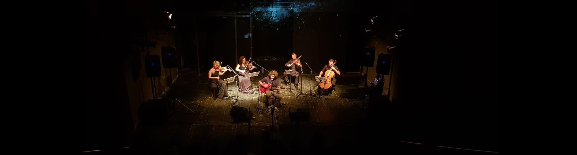 360 VR - KID JESUS & String Quartet